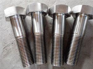 លេខ ១៥-Nitronic 50 XM-19 Hex បានរុញ DIN931 UNS S20910 ។