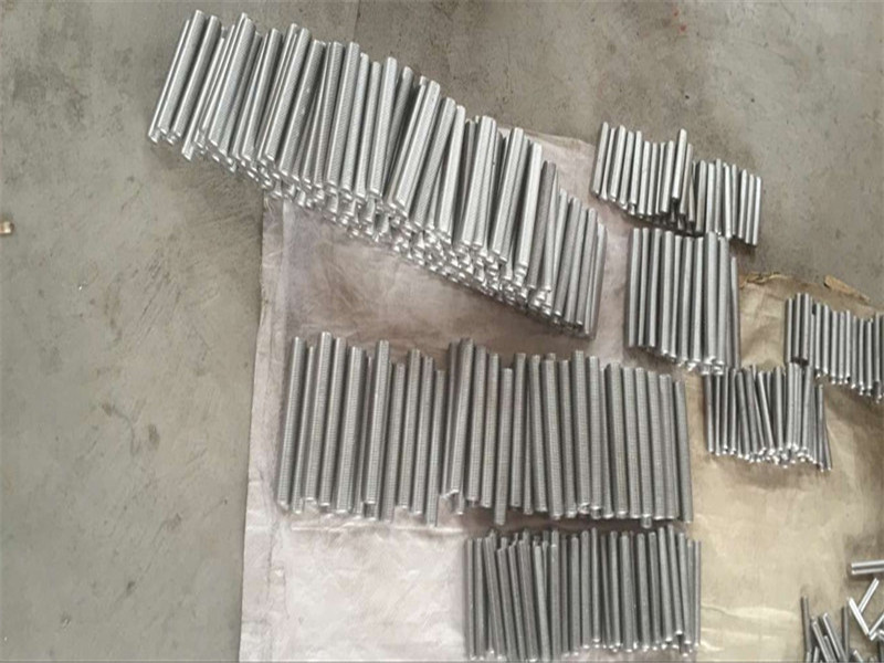 inconel 718 625 600 601 tap hex stud bolt and nut fastener M6 M120 ។
